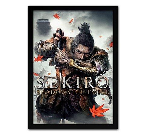 Poster com Moldura - Sekiro