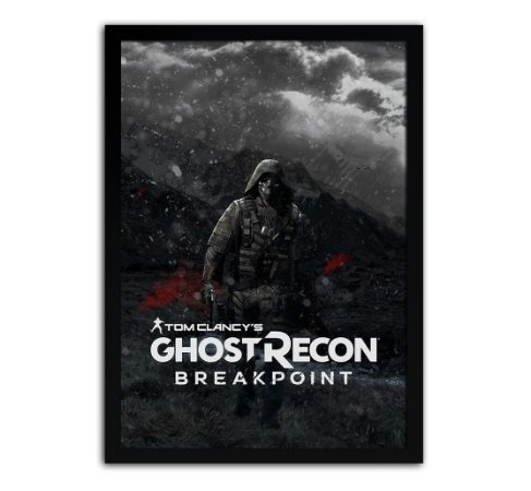 Poster com Moldura - Ghost Recon Breakpoint