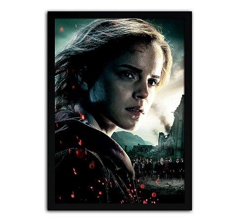 Poster com Moldura - Harry Potter Hermione Granger