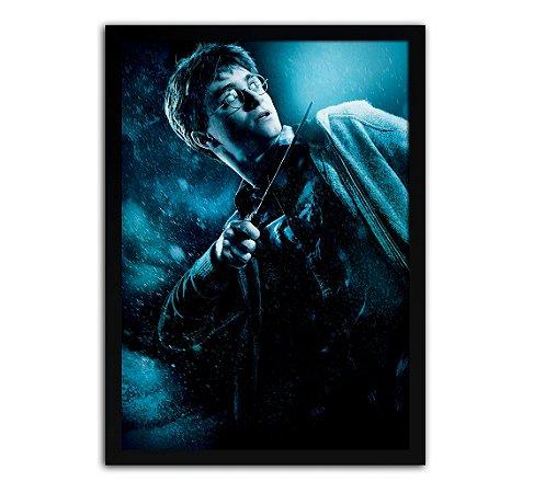 Poster com Moldura - Harry Potter E O Enigma Do Príncipe
