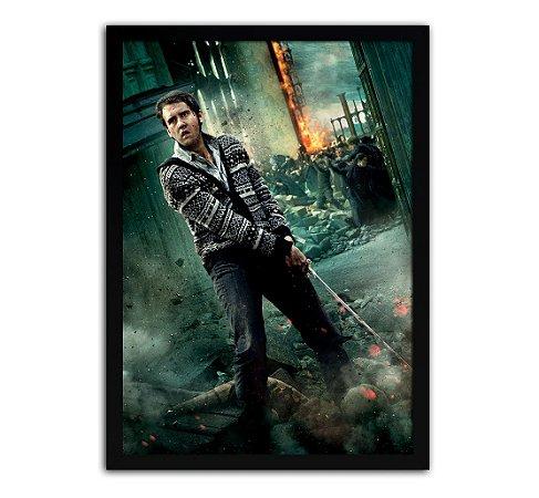 Poster com Moldura - Harry Potter Neville Longbottom