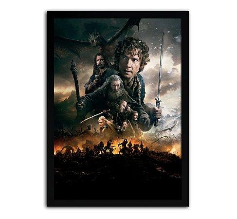 Poster com Moldura - O Hobbit Mo.2