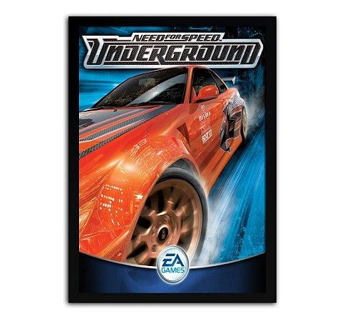 Poster com Moldura - Need For Speed Underground