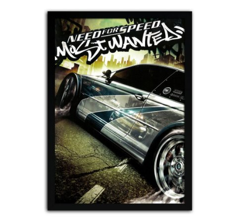 Poster com Moldura - Need For Speed Most Wanted