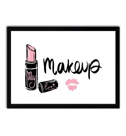 Quadro - Makeup - Maquiagem