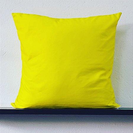 Almofada Lisa - Amarela