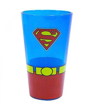 Copo De Vidro - Superman 450 ml Liga Da Justiça