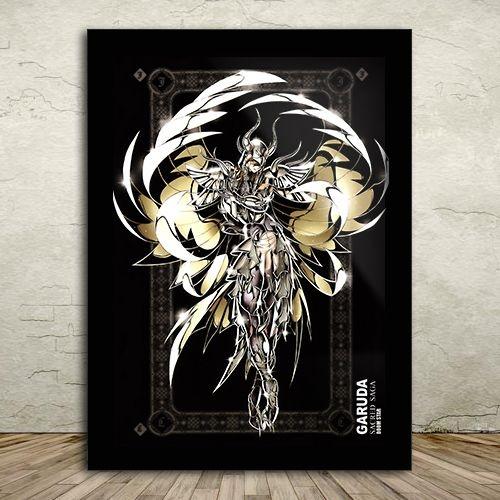 Poster com Moldura - Aiacos de Garuda
