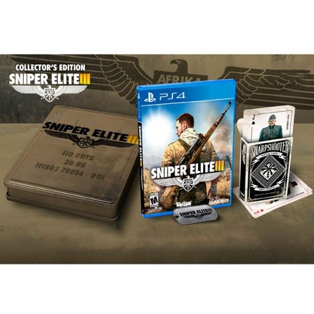 Jogo Sniper Elite III (Collector's Edition) - PS4
