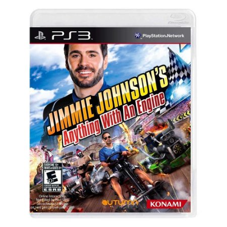 Jogo Jimmie Johnson's: Anything with an Engine - PS3