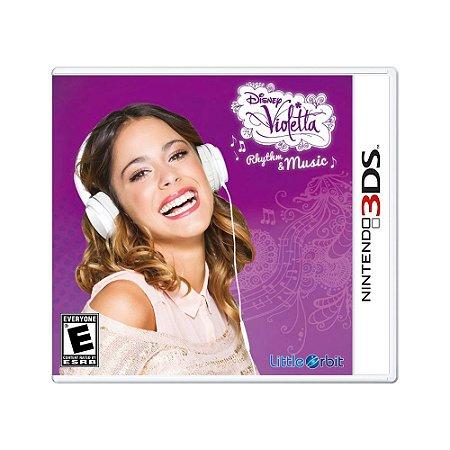 Jogo Disney Violetta Rhythm & Music - 3DS
