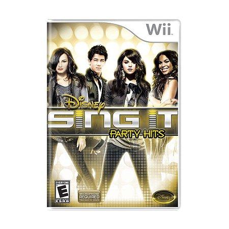 Jogo Disney Sing It: Party Hits - Wii