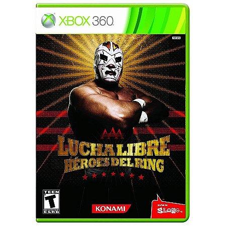 Jogo Lucha Libre AAA Héroes Del Ring - Xbox 360