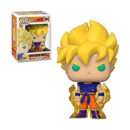 Boneco Super Saiyan Goku First Appearance 860 Dragon Ball Z - Funko Pop!