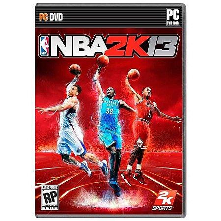 Jogo NBA 2K13 - PC