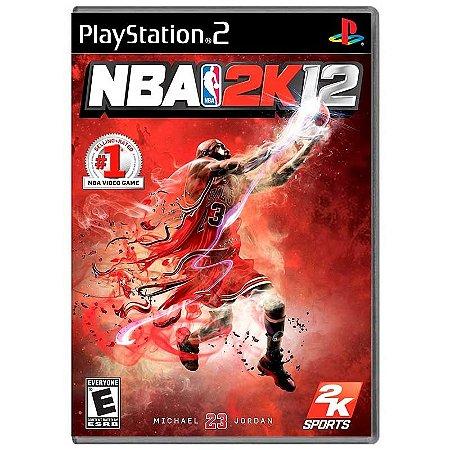 Jogo NBA 2K12 - PS2