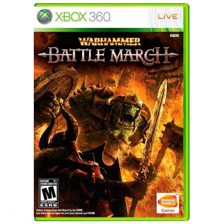 Jogo Warhammer: Battle March - Xbox 360