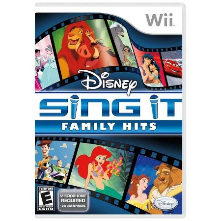 Jogo Disney Sing It: Family Hits - Wii