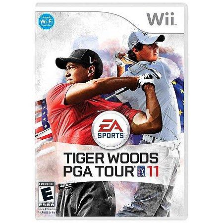 Jogo Tiger Woods PGA Tour 11 - Wii