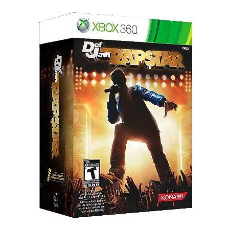 Jogo Def Jam Rapstar (Com Microfone) - Xbox 360