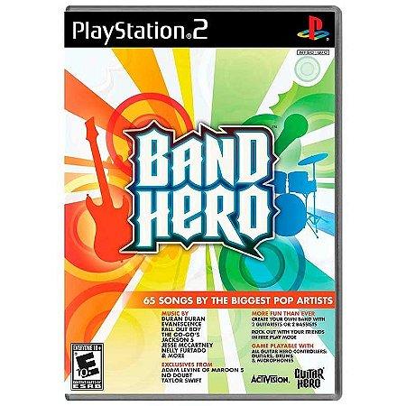 Jogo Band Hero - PS2