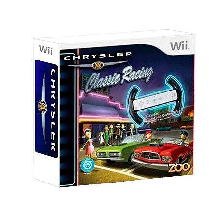 Jogo Chrysler Classic Racing - Wii
