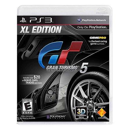 Jogo Gran Turismo 5 (Edição XL) - PS3