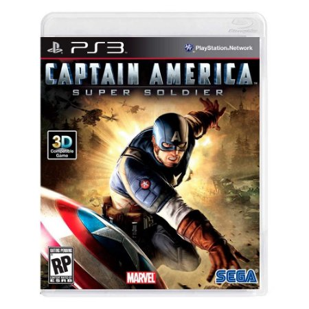 Jogo Captain America: Super Soldier - PS3