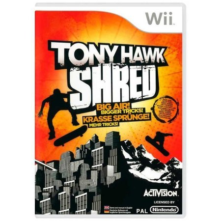 Jogo Tony Hawk Shred Big Air! Bigger Tricks! - Wii