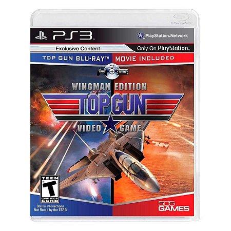 Jogo Top Gun: Videogame (Wingman Edition) - PS3
