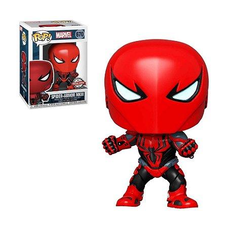 Boneco Spider-Armor MKIII 670 Marvel (Special Edition) - Funko Pop!