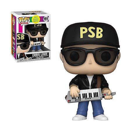 Boneco Chris Lowe 191 Pet Shop Boys - Funko Pop!
