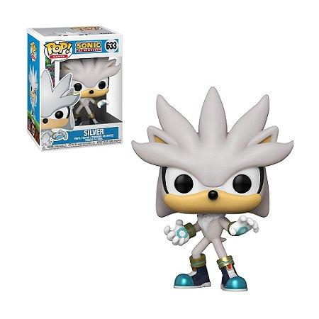 Boneco Silver 633 Sonic The Hedgehog - Funko Pop!