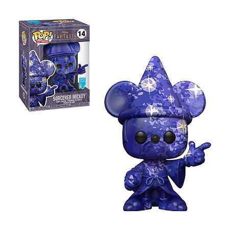 Boneco Sorcerer Mickey 14 Fantasia (Art Series) - Funko Pop!