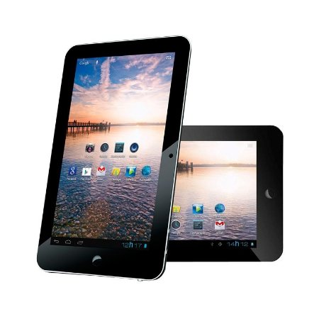 Tablet Zagg Z-Tab com Android 4.0 Wi-Fi Tela 7'' Touchscreen e Memória Interna 4GB