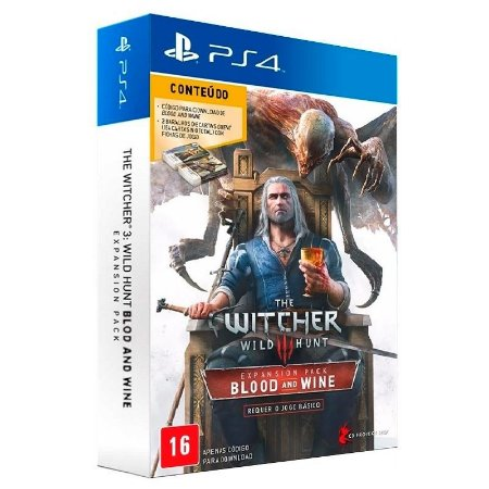 Jogo The Witcher 3: Wild Hunt: Blood and Wine (Pacote de Expansão) - PS4