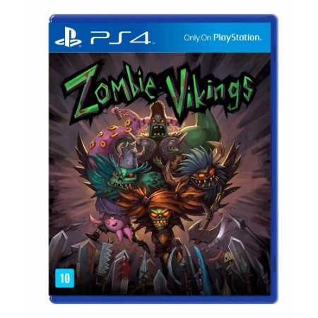 Jogo Zombie Vikings (Ragnarok Edition) - PS4