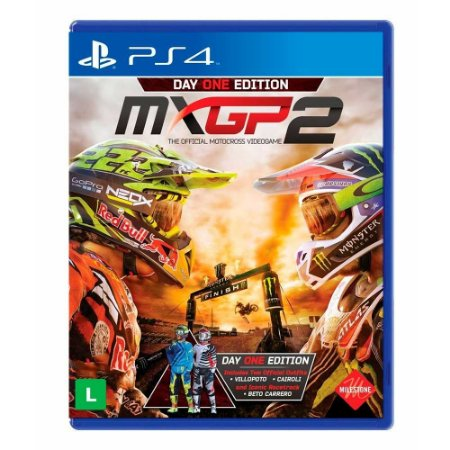 Jogo MXGP 2 (Edição Day One) - PS4