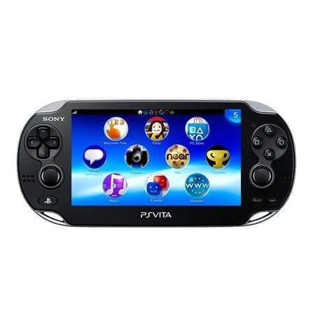 Console PlayStation PS Vita Preto - Sony