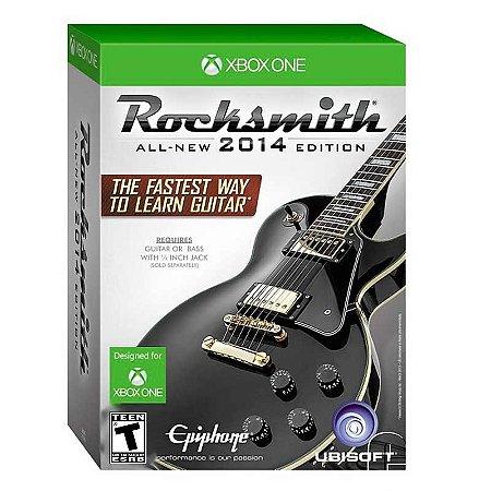 Jogo Rocksmith 2014 (Edição com Cabo) - Xbox One