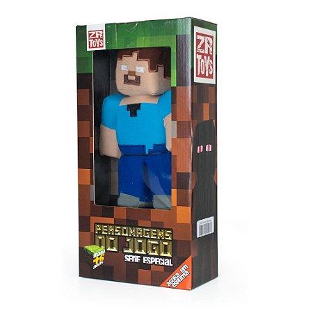 Boneco de pelúcia ZR Toys Minecraft: Herobrine
