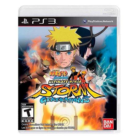 Jogo Naruto Shippuden: Ultimate Ninja Storm Generations - PS3