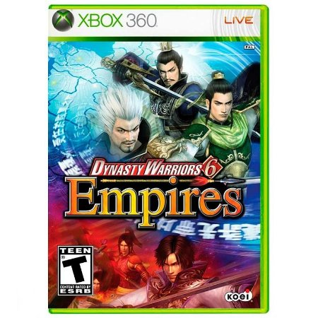 Jogo Dynasty Warriors 6: Empires - Xbox 360