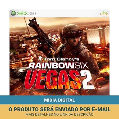 Jogo Tom Clancy's Rainbow Six: Vegas 2 (Mídia Digital) - Xbox 360 e Xbox One