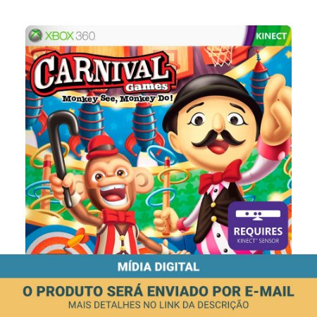 Jogo Carnival Games: Monkey See Monkey Do (Mídia Digital) - Xbox 360