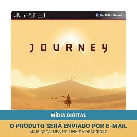 Jogo Journey (Mídia Digital) - PS3 e PS4