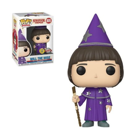Boneco Will The Wise 805 Stranger Things (Glows in the Dark Special Edition) - Funko Pop!