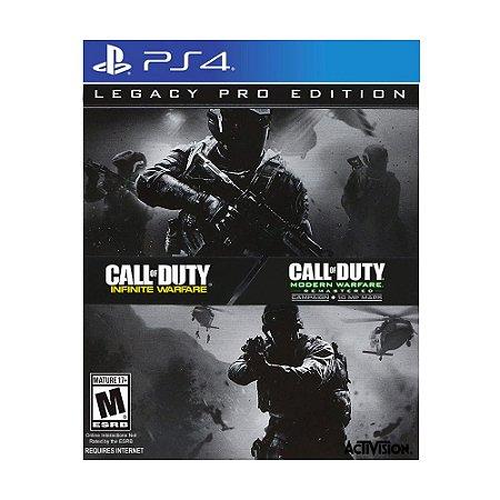 Jogo Call of Duty: Infinite Warfare + Call of Duty: Modern Warfare Remastered (Legacy Pro Edition) - PS4