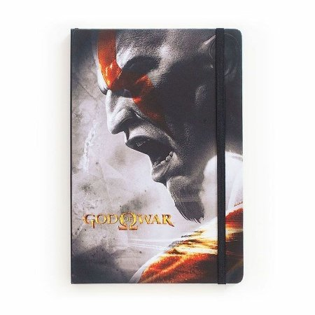 Caderno de Notas God of War PlayStation - Studiogeek
