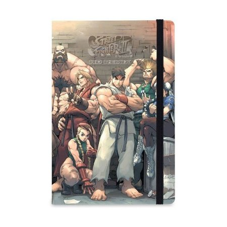 Caderno de Notas Street Fighter - Studiogeek